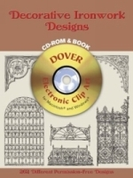 Decorative Ironwork Designs CD-ROM and Book (Electronic Clip Art) артикул 842a.